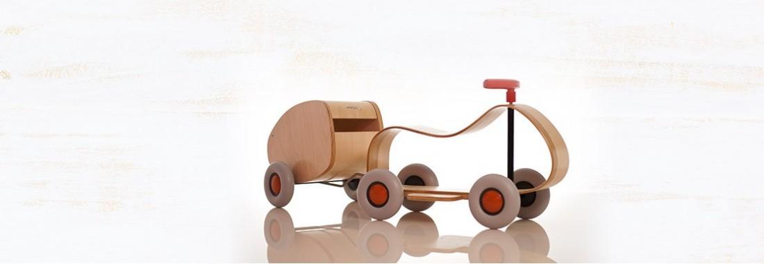 Ziehspielzeug und Lauflernwagen